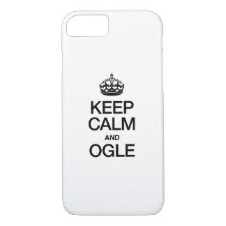 KEEP CALM AND OGLE iPhone 8/7 CASE