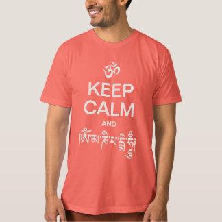 Keep Calm and Om Mani Padme Hum T Shirt