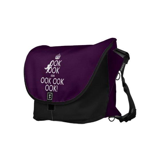 Keep Calm and Ook On Messenger Bag