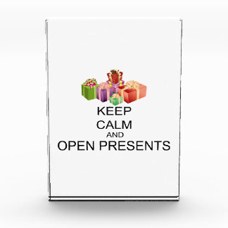Keep Calm And Open Presents Award