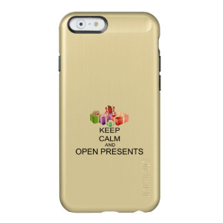 Keep Calm And Open Presents Incipio Feather Shine iPhone 6 Case