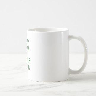 Keep Calm and Order Pizza Classic White Coffee Mug
