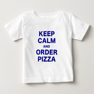 Keep Calm and Order Pizza Tee Shirts