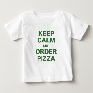 Keep Calm and Order Pizza Tees