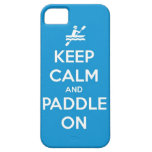 keep calm and paddle on iPhone 5 cover