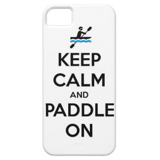 keep calm and paddle on iPhone SE/5/5s case