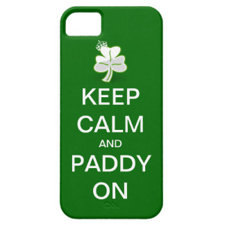 Keep Calm And Paddy On IPhone Case