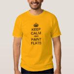 Keep Calm and Paint Flats T-shirt