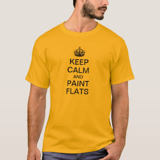 Keep Calm and Paint Flats T-Shirt