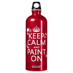 SIGG Traveller Water Bottle (0.6L) with Keep Calm and Paint On design