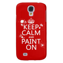 Case-Mate Barely There Samsung Galaxy S4 Case with Keep Calm and Paint On design