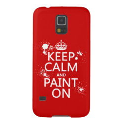 Case-Mate Barely There Samsung Galaxy S5 Case with Keep Calm and Paint On design