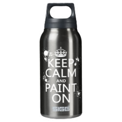 SIGG Thermo Bottle (0.5L) with Keep Calm and Paint On design