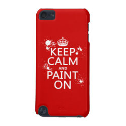 Case-Mate Barely There 5th Generation iPod Touch Case with Keep Calm and Paint On design