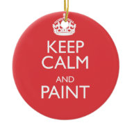 KEEP CALM AND PAINT