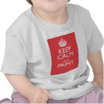KEEP CALM AND PAINT TSHIRTS