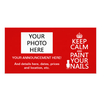 Keep Calm and Paint Your Nails (all colors) Card