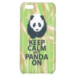 Keep Calm and Panda On Original Design Print Gift iPhone 5C Cases