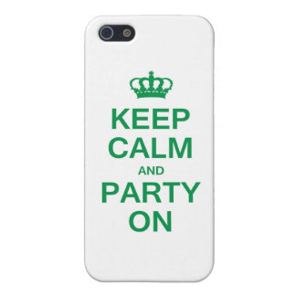 Keep Calm and Party On iPhone SE/5/5s Cover