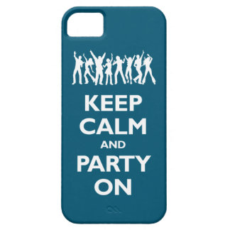 Keep Calm and Party On (oceanside) iPhone SE/5/5s Case