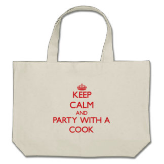 Keep Calm and Party With a Cook Bag