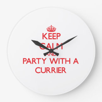 Keep Calm and Party With a Currier Wall Clocks