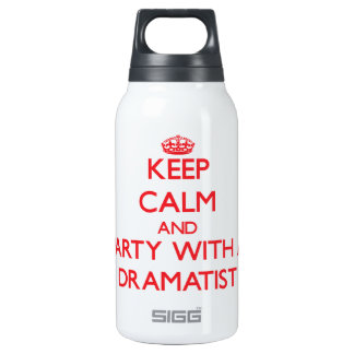 Keep Calm and Party With a Dramatist SIGG Thermo 0.3L Insulated Bottle