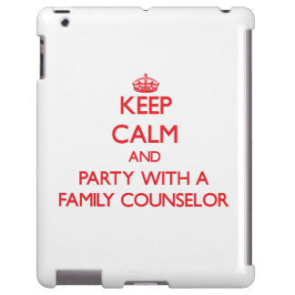 Keep Calm and Party With a Family Counselor
