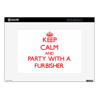 Keep Calm and Party With a Furbisher Decals For Netbooks