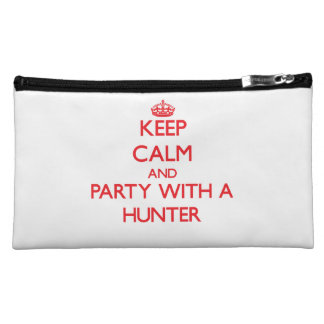 Keep Calm and Party With a Hunter Cosmetics Bags