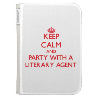 Keep Calm and Party With a Literary Agent Kindle 3 Covers