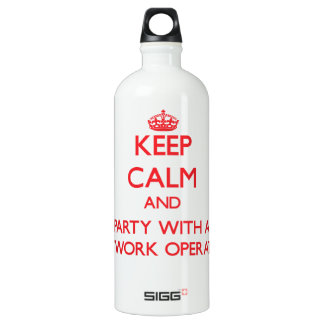 Keep Calm and Party With a Network Operator SIGG Traveler 1.0L Water Bottle