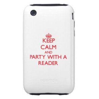 Keep Calm and Party With a Reader Tough iPhone 3 Covers