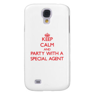 Keep Calm and Party With a Special Agent HTC Vivid Covers