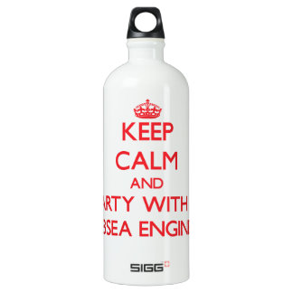 Keep Calm and Party With a Subsea Engineer SIGG Traveler 1.0L Water Bottle