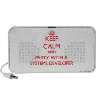 Keep Calm and Party With a Systems Developer Travel Speaker