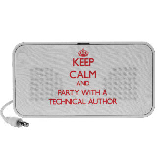 Keep Calm and Party With a Technical Author Travel Speaker