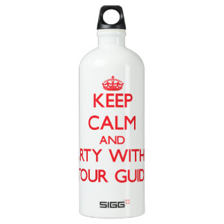 Keep Calm and Party With a Tour Guide SIGG Traveler 1.0L Water Bottle