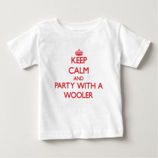 Keep Calm and Party With a Wooler T-shirts