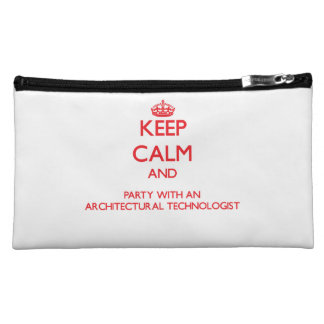 Keep Calm and Party With an Architectural Technolo Makeup Bag