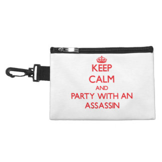 Keep Calm and Party With an Assassin Accessories Bag