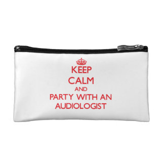 Keep Calm and Party With an Audiologist Makeup Bag