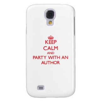 Keep Calm and Party With an Author HTC Vivid / Raider 4G Cover