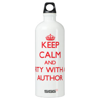 Keep Calm and Party With an Author SIGG Traveler 1.0L Water Bottle