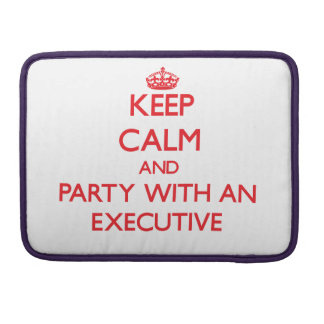 Keep Calm and Party With an Executive MacBook Pro Sleeves