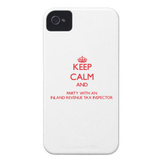 Keep Calm and Party With an Inland Revenue Tax Ins iPhone 4 Case-Mate Case