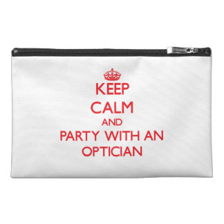 Keep Calm and Party With an Optician Travel Accessory Bag