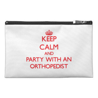 Keep Calm and Party With an Orthopedist Travel Accessory Bag