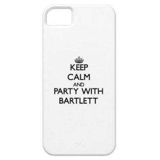 Keep calm and Party with Bartlett iPhone 5 Cases