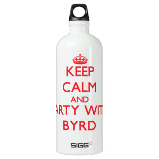 Keep calm and Party with Byrd SIGG Traveler 1.0L Water Bottle